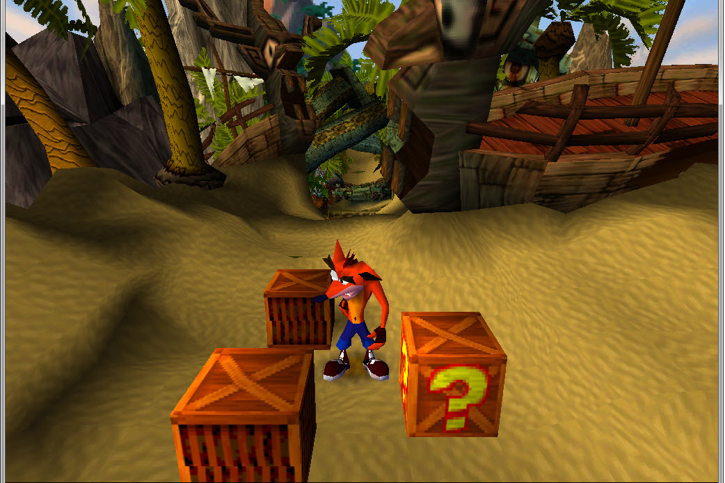 скачать Crash Bandicoot 1