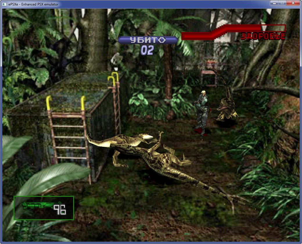 Dino Crisis 2 ps1 геймпдей