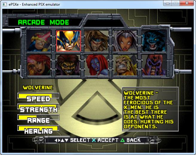 X-Men - Mutant Academy 1 скачать на PC