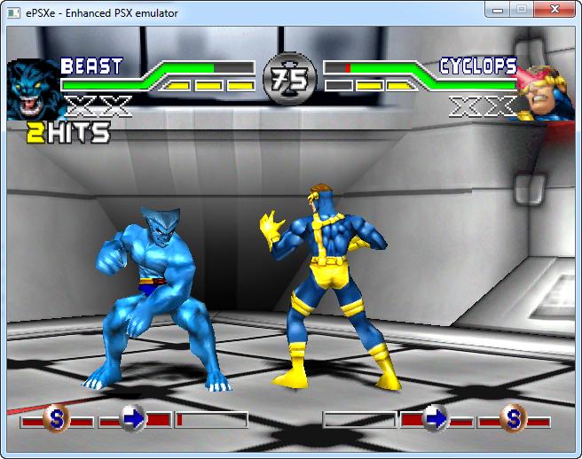 X-Men - Mutant Academy 1 скачать  PS1 версия