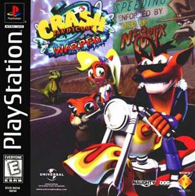 скачать Crash Bandicoot 3  Warped ps1
