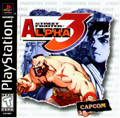скачать Street Fighter Alpha 3 PS1