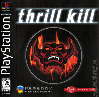 скачать Thrill Kill PS1