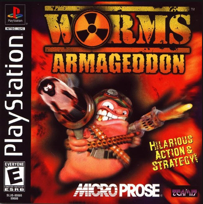 Worms Armageddon / лучшие игры Playstation 1